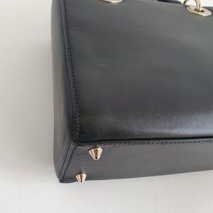 Dior Bags - Dior lady Dior medium black gold niki de Saint